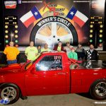 Red Drag Racing Truck