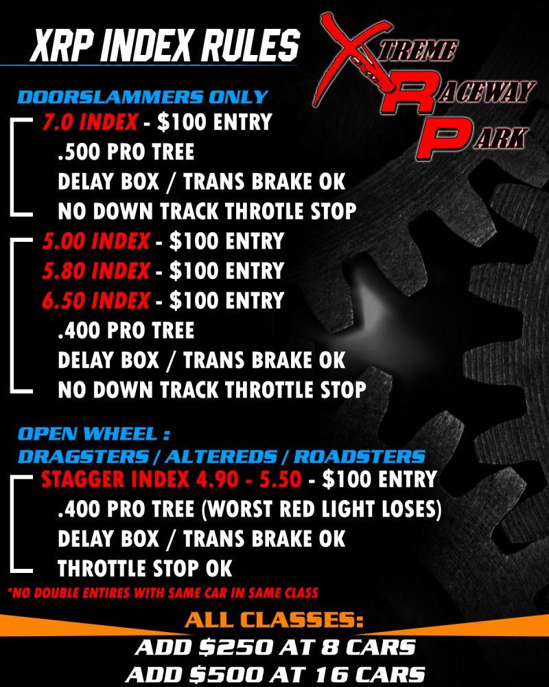 XRP Raceway Rules